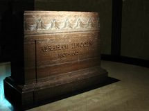 cryptlincoln s tomb arkivfoto