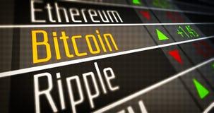 Crypto αγορά νομίσματος ελεύθερη απεικόνιση δικαιώματος