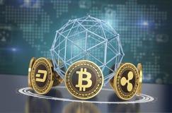 Crypto concept de devise Images stock