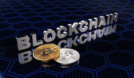 Crypto Currency Blockchain Concept Royalty Free Stock Photo