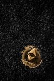 Crypto currency ethereum royalty free stock image