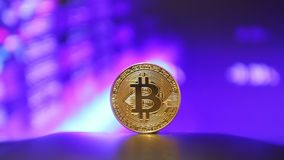 Crypto currency Gold Bitcoin - BTC - Bit Coin