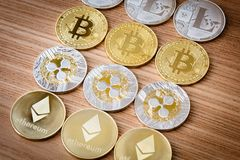 Crypto Currency Royalty Free Stock Photo