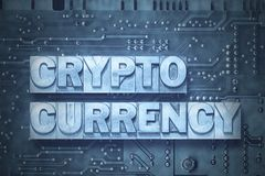Crypto currency - pc Stock Images
