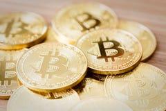 Crypto devise de Bitcoins Image libre de droits