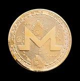 Crypto devise de Monero Photographie stock libre de droits