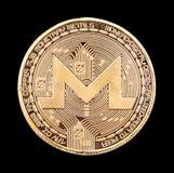 Crypto devise de Monero Image libre de droits