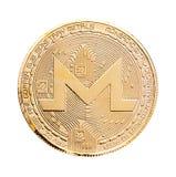 Crypto devise de Monero Photo stock