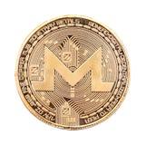 Crypto devise de Monero Images libres de droits