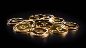 Crypto Ethereum νόμισμα Στοκ εικόνες με δικαίωμα ελεύθερης χρήσης
