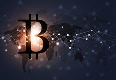Crypto fond de technologie minière Images stock