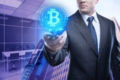Cryptocurrency和投资概念 库存图片