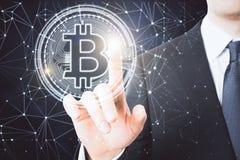Cryptocurrency и концепция оплаты стоковые изображения