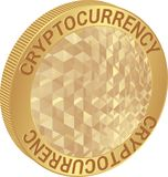 Cryptocurrency Image stock