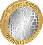 Cryptocurrency illustration libre de droits