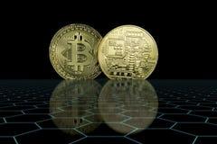 Cryptocurrency Bedrijfsconcept royalty-vrije stock fotografie