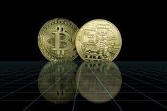 Cryptocurrency Bedrijfsconcept stock foto