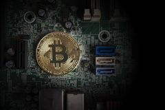 Cryptocurrency Bedrijfsconcept royalty-vrije stock foto's