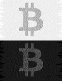 Cryptocurrency de Bitcoin Fotografía de archivo