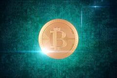 Cryptocurrency e concetto di attività bancarie Fotografie Stock