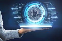 Cryptocurrency e concetto di finanza immagini stock libere da diritti