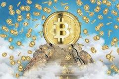 Cryptocurrency e concetto di finanza illustrazione vettoriale