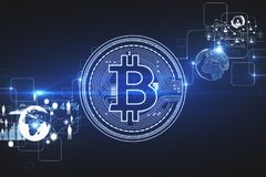 Cryptocurrency e concetto di investimento Fotografia Stock