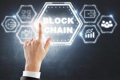 Cryptocurrency en blokketen concept Royalty-vrije Stock Fotografie