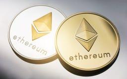 Cryptocurrency Ethereum zdjęcie royalty free