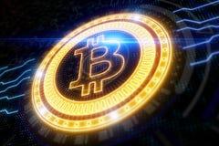 Cryptocurrency i finansowy pojęcie Obraz Stock
