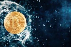 Cryptocurrency-Konzept stock abbildung
