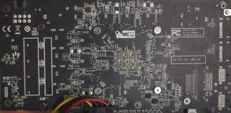 Cryptocurrency kopalnictwa takielunek używać graficzne karty minować dla cyfrowego cryptocurrency tak jak bitcoin, ethereum i inn Zdjęcie Stock