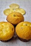 Cryptocurrency muffin Royaltyfri Foto