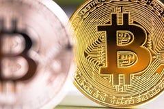 Cryptocurrency mynt Royaltyfri Bild