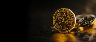 Cryptocurrency Tron стоковая фотография