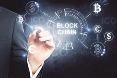 Cryptocurrency und Währungskonzept Lizenzfreie Stockbilder