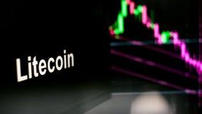 Cryptocurrencyteken r r royalty-vrije stock afbeelding