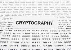 cryptography fotografia de stock