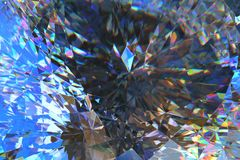 Crystal Abstract Image stock