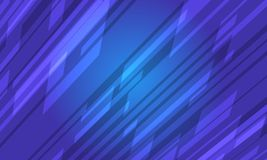 Crystal Abstract Background azul futurista Ilustración del Vector
