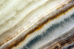 Crystal, an abstract beautiful background of structure of a crys Stock Images