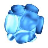 Crystal Abstract Conceito da joia ilustração do vetor