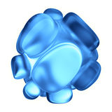 Crystal Abstract Conceito da joia Imagens de Stock