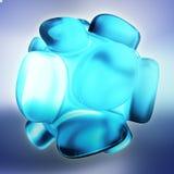 Crystal Abstract Concepto de la joyería Imagen de archivo