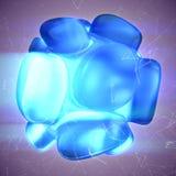 Crystal Abstract Concepto de la joyería Fotos de archivo libres de regalías