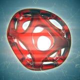 Crystal Abstract Concepto de la joyería Foto de archivo