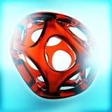 Crystal Abstract Concepto de la joyería ilustración del vector