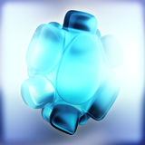 Crystal Abstract Concepto de la joyería Fotos de archivo