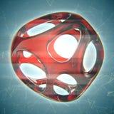 Crystal Abstract Concetto dei gioielli Fotografie Stock