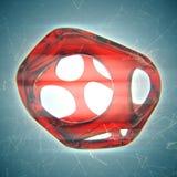 Crystal Abstract Concetto dei gioielli Immagini Stock